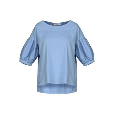 アルファスタジオ ALPHA STUDIO T シャツ スカイブルー 42 コットン 95% / ポリウレタン 5% T シャツ