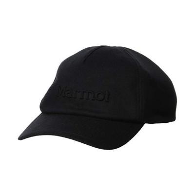 [Marmot(マーモット)]キャップ・ハット EMBOSS LOGO CAP メンズ ブラック 日本 ONE (FREE サイズ)