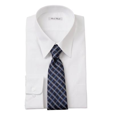おなかゆったり形態安定長袖ワイシャツ(レギュラーカラ―) 大きいサイズメンズ (ワイシャツ)Shirts, テレワーク, 在宅, リモート