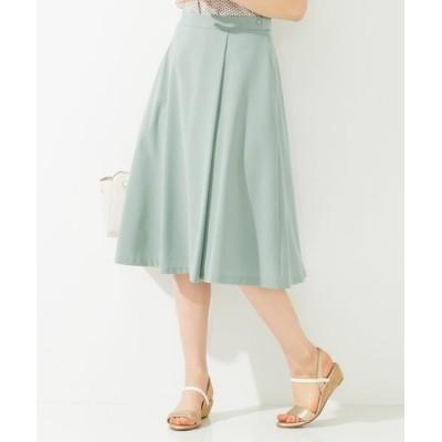 any SiS/エニィスィス 【美人百花掲載】タックポイントノーブル スカート ミント 2