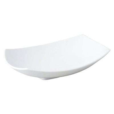 KOYO 白い洋食器 TIDOタイド28cm盛鉢