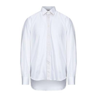 アルヴィエロ マルティーニ プリマ クラッセ ALVIERO MARTINI 1a CLASSE シャツ ホワイト 41 コットン 100% シャツ