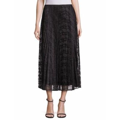 ラファイエット148ニューヨーク レディース スカート Dorothy Pleated Lace Skirt