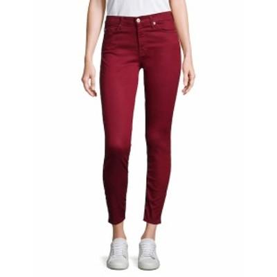7 フォー オールマンカインド レディース パンツ デニム B(air) Skinny Ankle Jeans