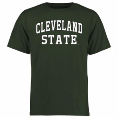 Fanatics Branded ファナティクス ブランド スポーツ用品  Cleveland State Vikings Green Everyday T-Shirt