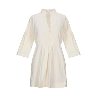 カリバン CALIBAN ミニワンピース&ドレス アイボリー 42 コットン 97% / ポリウレタン 3% ミニワンピース&ドレス