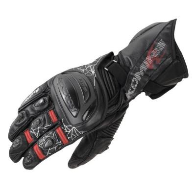 コミネ (Komine) バイク用 グローブ Gloves GK-235 チタニウムレーシンググローブ ブラック Lサイズ 06-235/BK/L