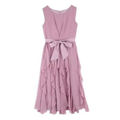 ドレス ラッフルスカートドレス