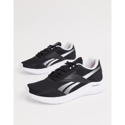 リーボック レディース スニーカー シューズ Reebok Energylux 2.0 sneakers in black white & silver Black/white/silver m