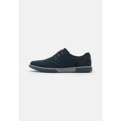ブガッティ メンズ 靴 シューズ PRATO - Trainers - dark blue