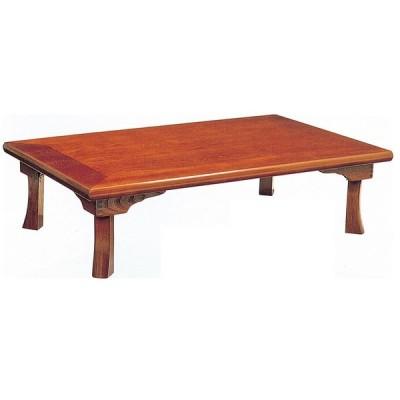 折れ脚座卓テーブル 長方形幅120センチ 綾部 ローテ-ブル ちゃぶ台 日本製
