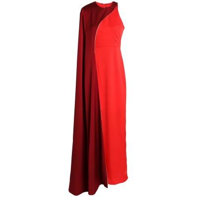 PAPER London ロングワンピース&ドレス レッド 8 ポリエステル 100% ロングワンピース&ドレス