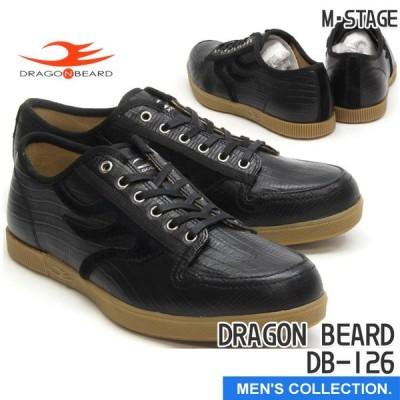 ドラゴンベアード DRAGON BEARD DB-126 BLK カジュアルシューズ ローカット スニーカー メンズ