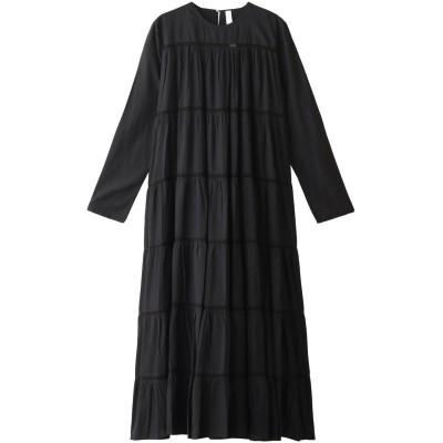 Merlette マーレット MAIDAロングティアードドレス レディース ブラック S