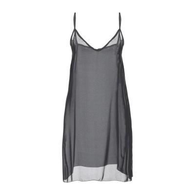 PAOLO CASALINI ミニワンピース&ドレス ブラック M ポリエステル 100% ミニワンピース&ドレス