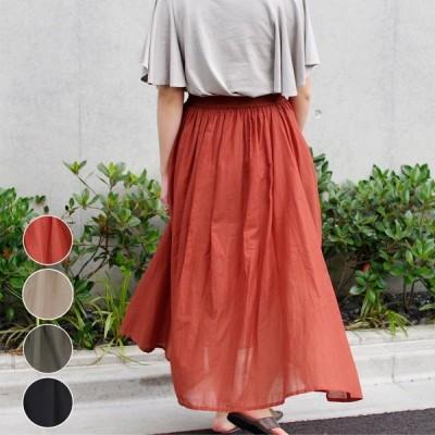 ロングスカート レディース ファッション フレアスカート 夏 体型カバー ふんわり 30代 40代 シンプル ナチュラル プチプラ ママファッション