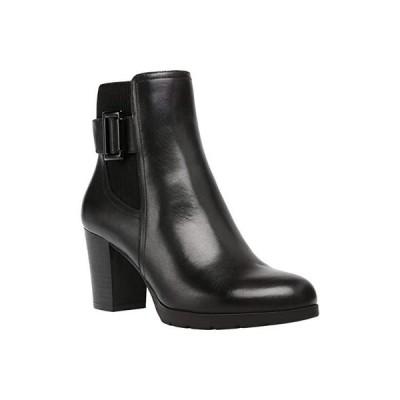 アンクライン Raylin レディース ブーツ Black Leather