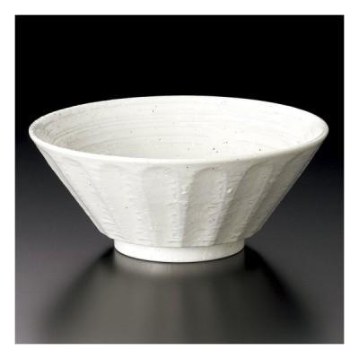 白粉引6.8ラーメン 中華食器 ラーメン丼 業務用 らーめん丼 らーめん鉢 どんぶり 麺鉢 めん鉢 日本製 磁器