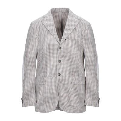 LUBIAM テーラードジャケット ベージュ 52 コットン 100% テーラードジャケット