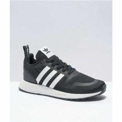 アディダス ADIDAS レディース スニーカー シューズ・靴 adidas Multix J Black and White Shoes Black