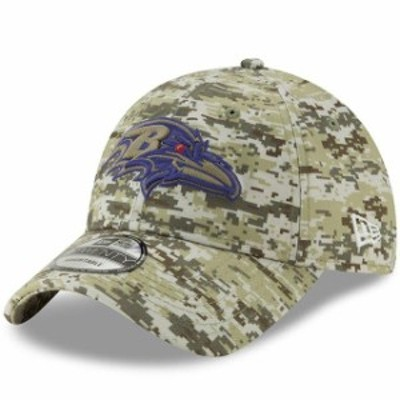 New Era ニュー エラ スポーツ用品  New Era Baltimore Ravens Camo Digi 9TWENTY Adjustable Hat