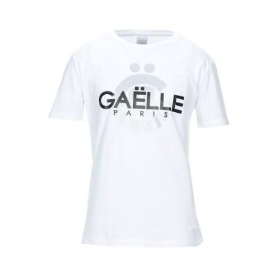 GAëLLE Paris T シャツ ホワイト S コットン 100% T シャツ