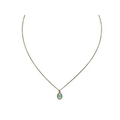 Sorrelli Maisie Pendant Necklace, Antique Gold-Tone Finish, Pacific Opal