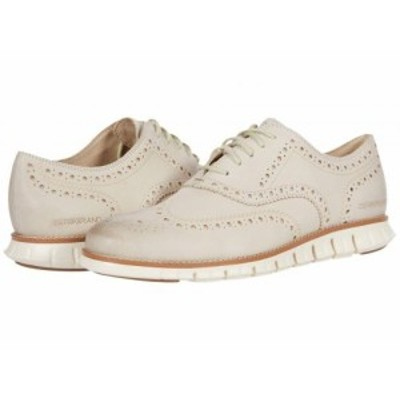 Cole Haan コールハーン メンズ 男性用 シューズ 靴 オックスフォード 紳士靴 通勤靴 Zerogrand Wing Tip Oxford Cement【送料無料】