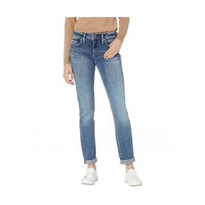 Silver Jeans Co. レディース 女性用 ファッション ジーンズ デニム Boyfriend Mid-Rise Slim Leg Jeans L27101EPX217 - Indigo