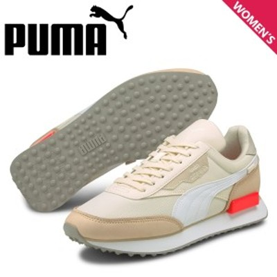 PUMA プーマ フューチャー ライダー コンベイ スニーカー レディース FUTURE RIDER CONVEY ベージュ 380163-01
