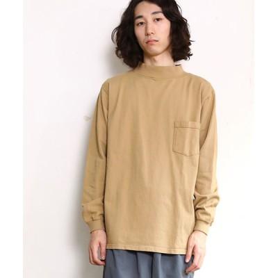 SAWINTO / 【MADE IN USA】L/S MOCK NECK POCKET T/ロングスリーブモックネックポケットT MEN トップス > Tシャツ/カットソー