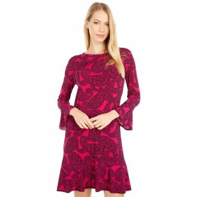 マイケルコース ワンピース トップス レディース Floral Mix Flounce Dress Azalea