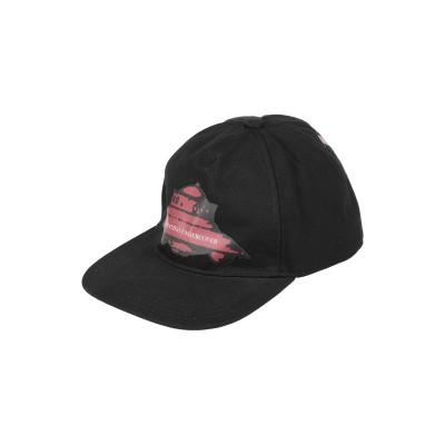 VALENTINO GARAVANI 帽子 ブラック 58 コットン 100% 帽子