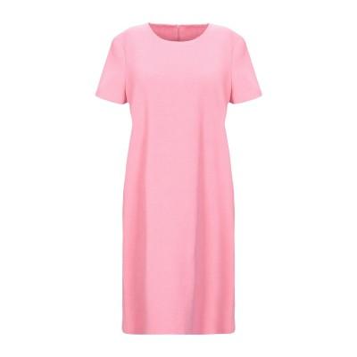 ハリス・ワーフ・ロンドン HARRIS WHARF LONDON ミニワンピース&ドレス ピンク 40 コットン 95% / ナイロン 4% / ポ