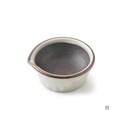 [中川政七商店] かもしか道具店 スパイスすりバチ 白 溝のないすり鉢