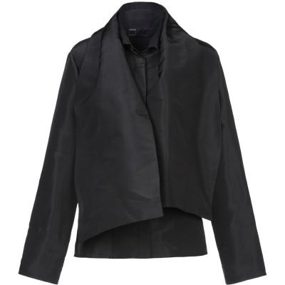 TOMASO STEFANELLI シャツ ブラック 44 シルク 100% シャツ