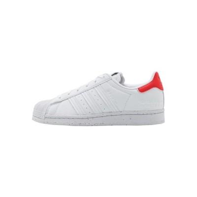 アディダスオリジナルス スニーカー レディース シューズ SUPERSTAR - Trainers - footwear white/red