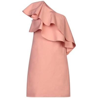 ランバン LANVIN ミニワンピース&ドレス ピンク 38 コットン 55% / ポリエステル 45% ミニワンピース&ドレス