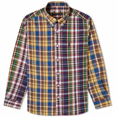 ソフネット SOPHNET. メンズ シャツ トップス Standard Big Shirt Red