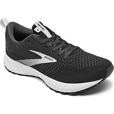ブルックス Brooks レディース ランニング・ウォーキング スニーカー シューズ・靴 Revel 4 Running Sneakers from Finish Line Black/Oyster