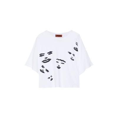 ミッソーニ MISSONI T シャツ ホワイト L コットン 100% T シャツ