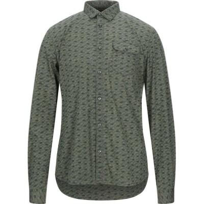 ペトロール インダストリーズ PETROL INDUSTRIES Co. メンズ シャツ トップス patterned shirt Military green