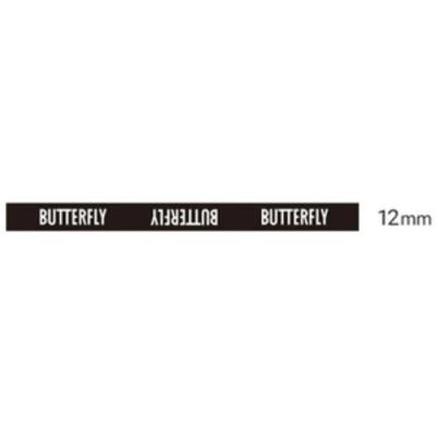 バタフライ 卓球ラケット用サイドテープ(ブラック・幅:12mm) BUTTERFLY 卓球用品 エッジプロテクター 長さ:48cm BUT-75840-278-12 【返品種別A】