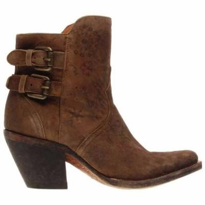 ルチーズ レディース ブーツ・レインブーツ シューズ Catalina Calf Leather Booties