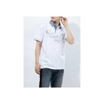 デシグアル Desigual ポロシャツ半袖 MIGUEL (ホワイト)