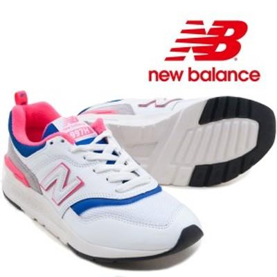 【ニューバランス】 CM997HAJ レディーススニーカー newbalance 紐靴 運動靴 女性 ウォーキング ランニング 合皮 定番 ローヒール ペタン