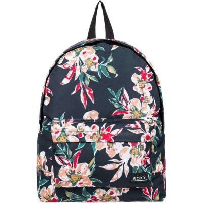 ロキシー Roxy レディース バックパック・リュック バッグ Sugar Baby Printed 16L Backpack Anthracite/Wonder/Garden