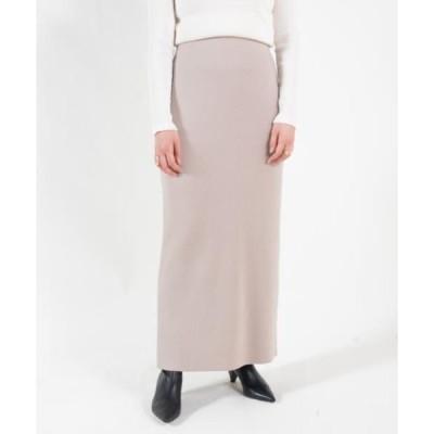 TOMORROWLAND / トゥモローランド バウンススムース Iラインスカート