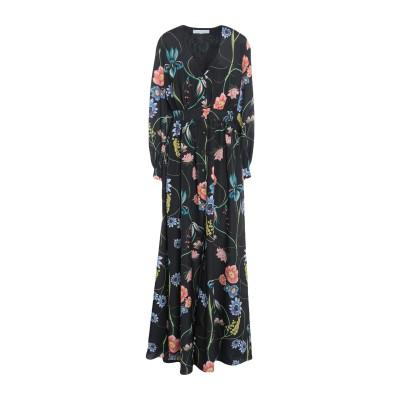 BORGO DE NOR ロングワンピース&ドレス ブラック 8 ポリエステル 100% ロングワンピース&ドレス