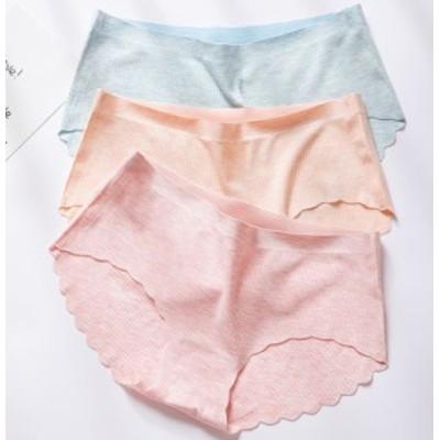 シームレスショーツ スタンダードショーツ パンツ パンティー ローライズ レディース ひびかない 無縫製 響かない ローウエスト